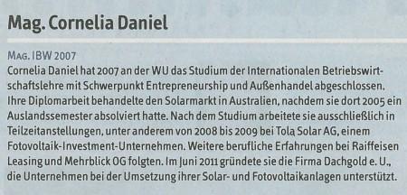Bericht in Presse Feb. 2012