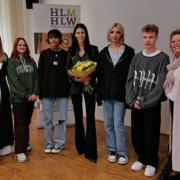 Kerstin Lechner in der HLM